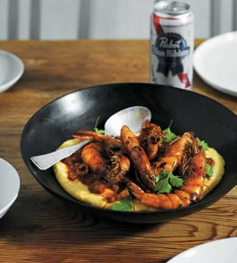 Prawns-and-Polenta-from-Try-This-At-Home-by-Richard-Blais