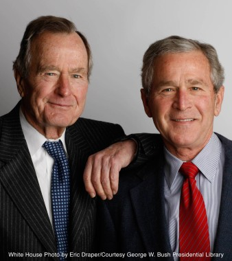 President George W. Bush to Publish Personal Biography of His Father,  President George H. W. Bush