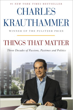 Things That Matter By Charles Krauthammer Surpasses 1 Million Sold