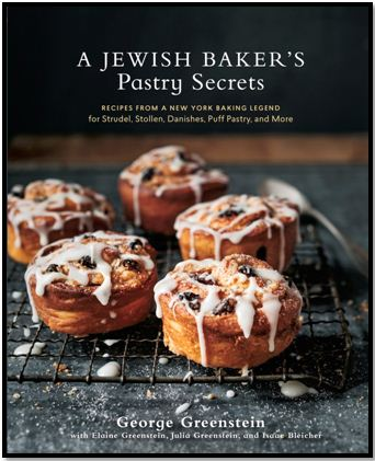 Jewish Baker's Pastry Secrets Bordered Cover