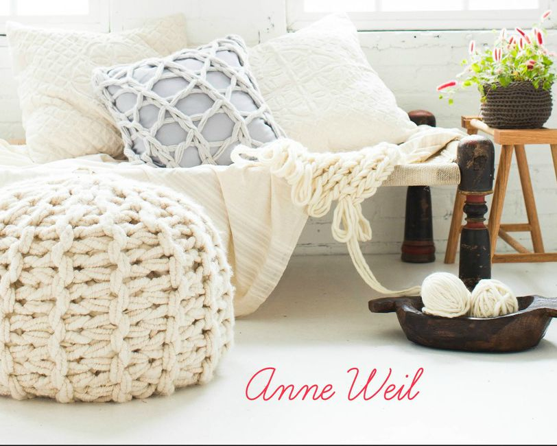 Knitting Without Needles Book : Knitting without needles by anne weil the crown