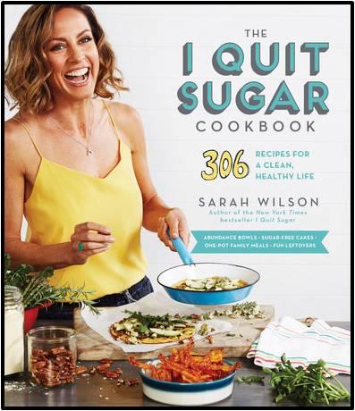 i quit sugar cookbook with border