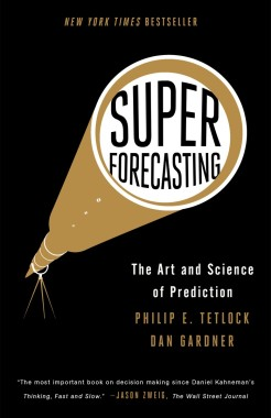 Superforecasting  - paperback cover