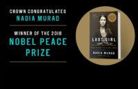 Global Human Rights Activist NADIA MURAD Awarded the 2018 Nobel Peace Prize
