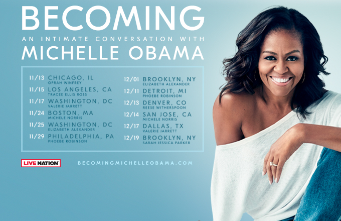 Becoming By Michelle Obama Book Tour Moderators The Crown Publishing Group